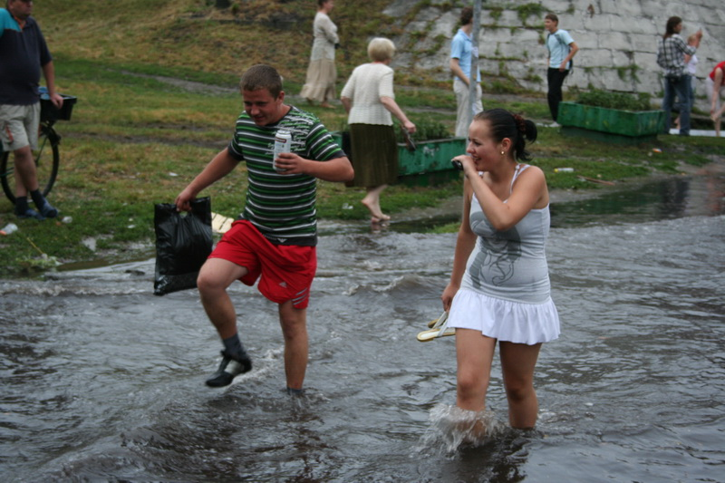 Russian flooding in Kiev 24