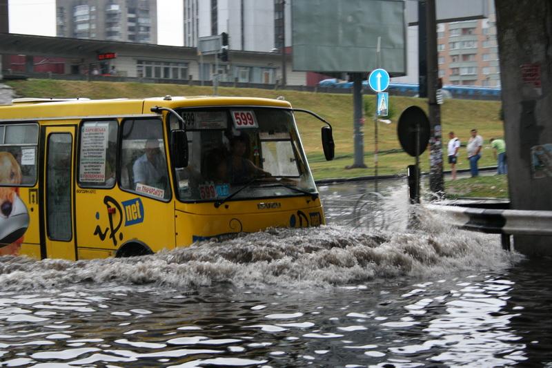 Russian flooding in Kiev 4