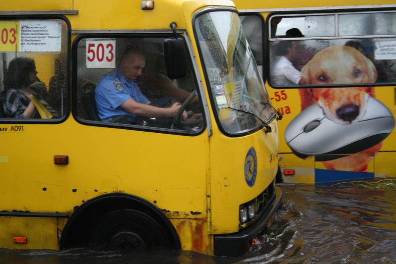 Russian flooding in Kiev 5