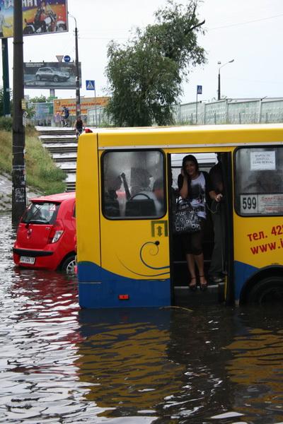 Russian flooding in Kiev 6