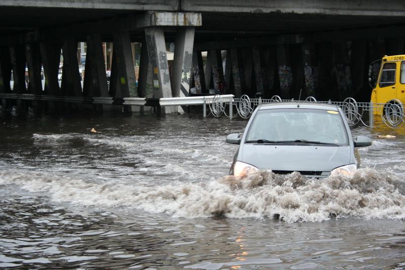 Russian flooding in Kiev 8