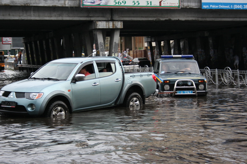 Russian flooding in Kiev 9