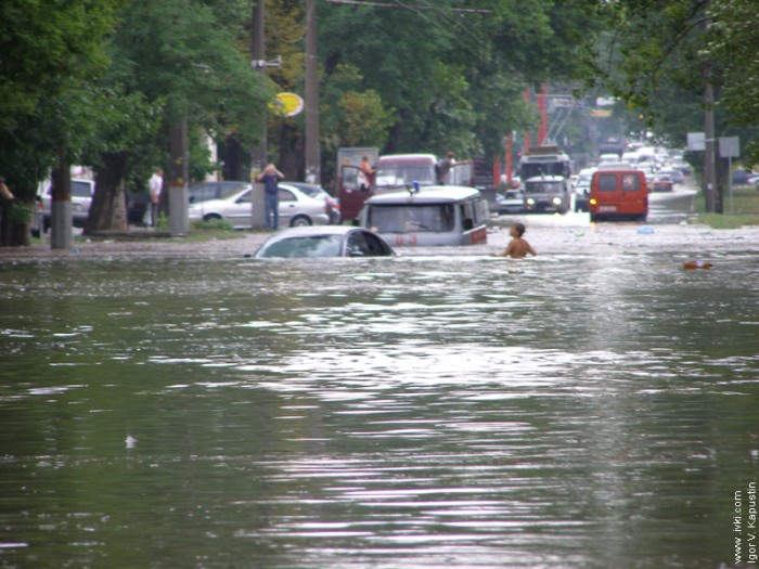 flood in Nikolaev, Ukraine 1