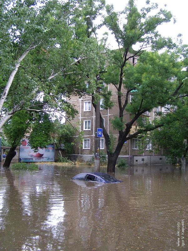 flood in Nikolaev, Ukraine 10