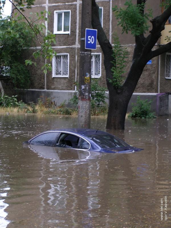 flood in Nikolaev, Ukraine 11