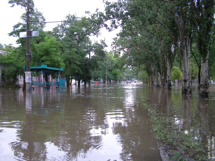 flood in Nikolaev, Ukraine 2