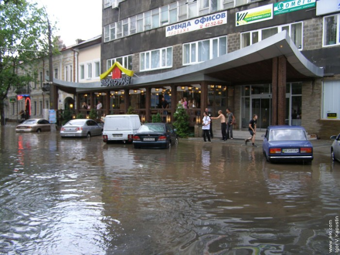 flood in Nikolaev, Ukraine 3