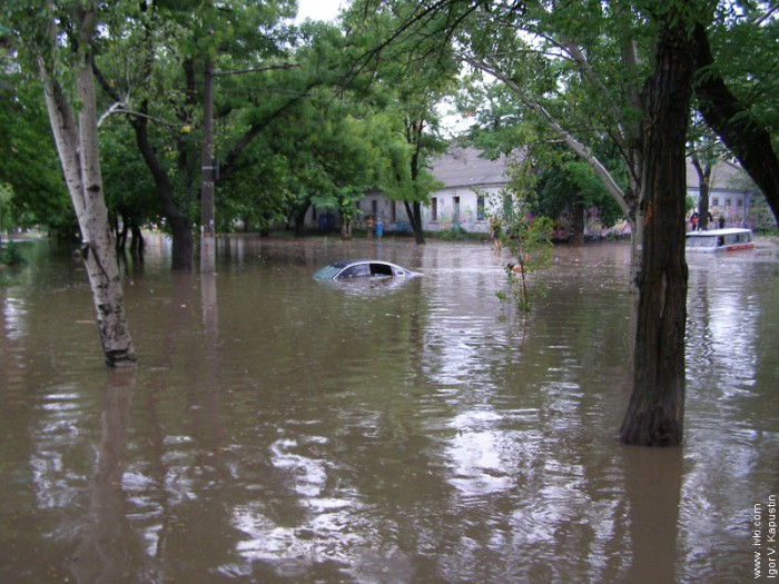 flood in Nikolaev, Ukraine 7