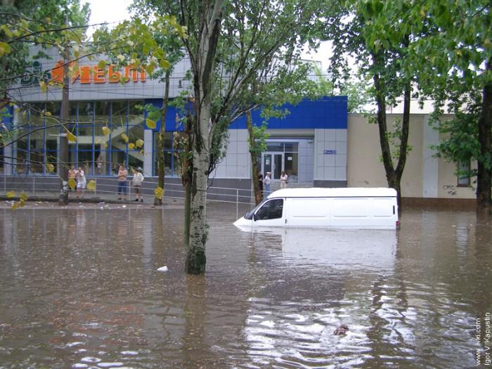 flood in Nikolaev, Ukraine 9