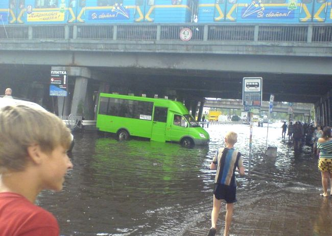 flood under the bridge 1