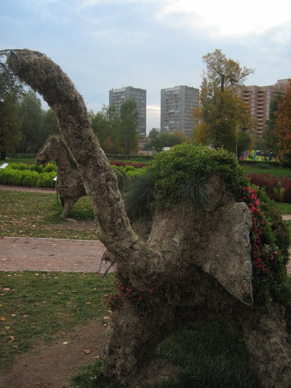 vorontsovo park in Moscow 6