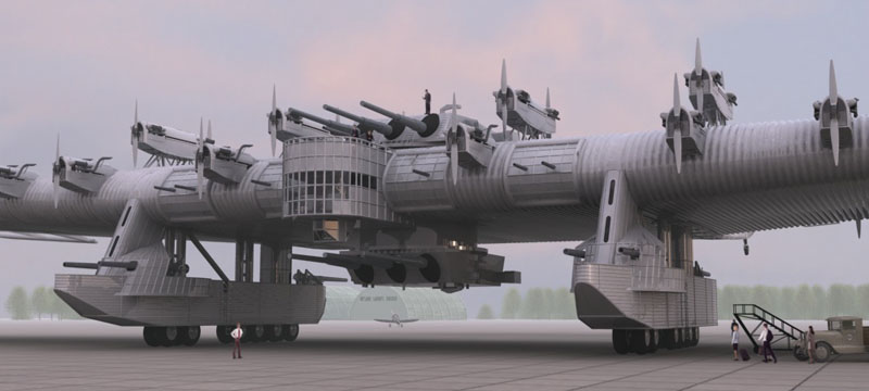 Russian flying fortress 5