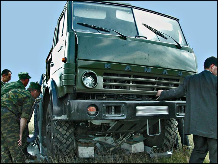 Military drop of kamaz truck 6