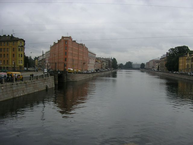 st. petersburg, fontanka river