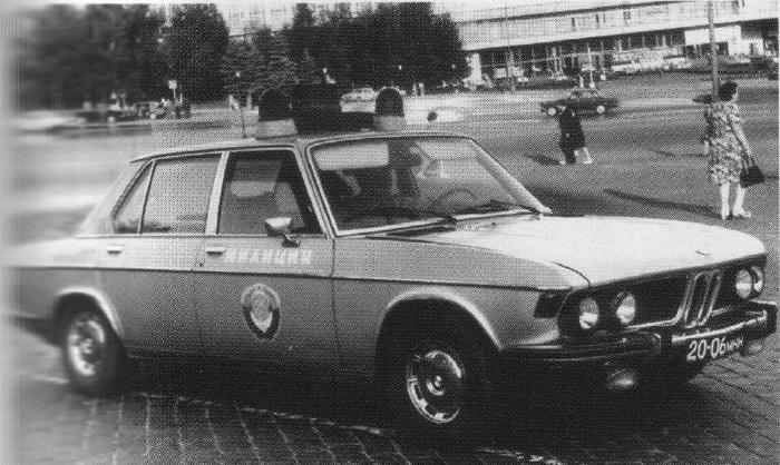 foreign cars in USSR police 1