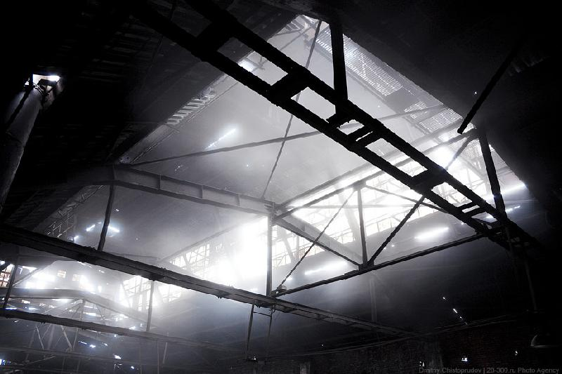 Quiet of an Abandoned Foundry