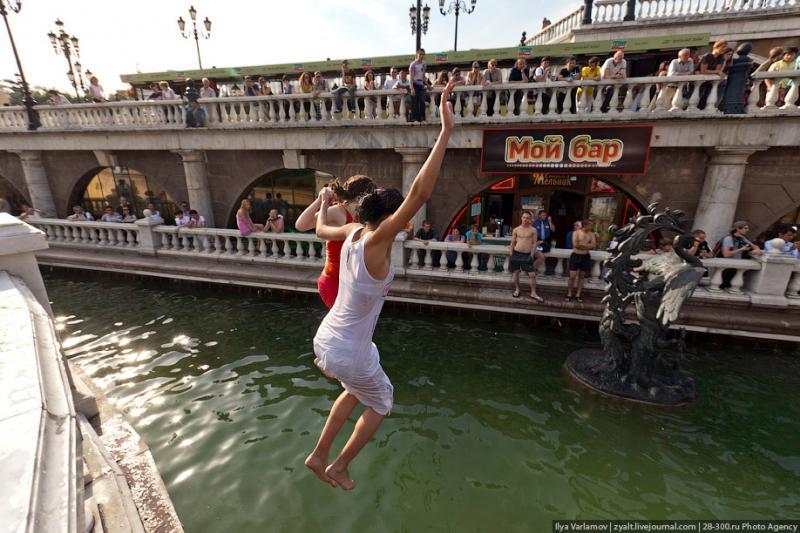 Fountain Swim - Part II 9