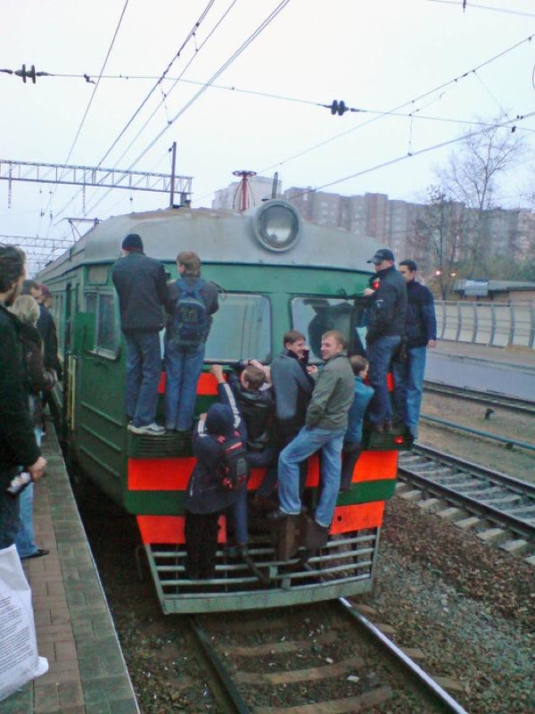 Train in Russia 14