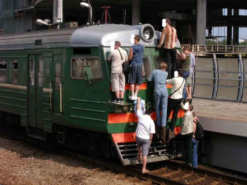 Train in Russia 17