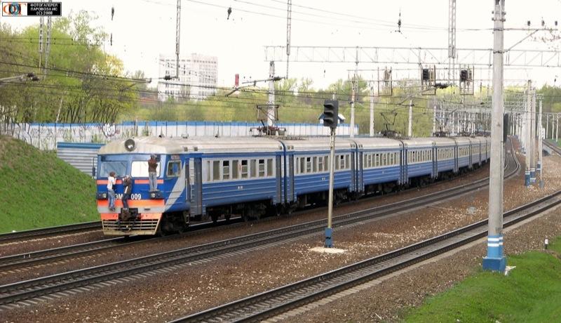 Train in Russia 7