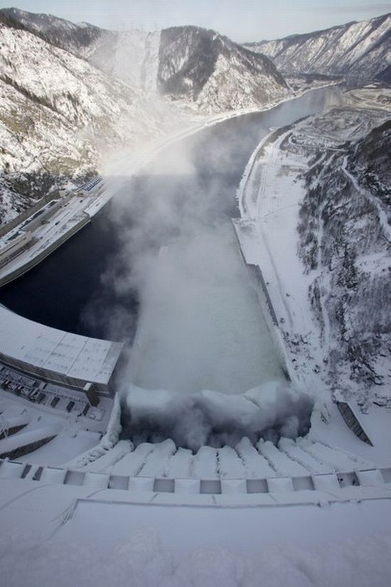 Russian frozen power plant 3