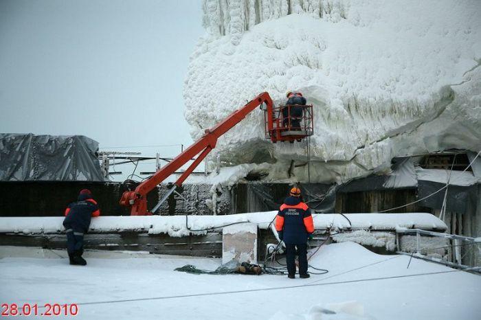 Russian frozen power plant 9