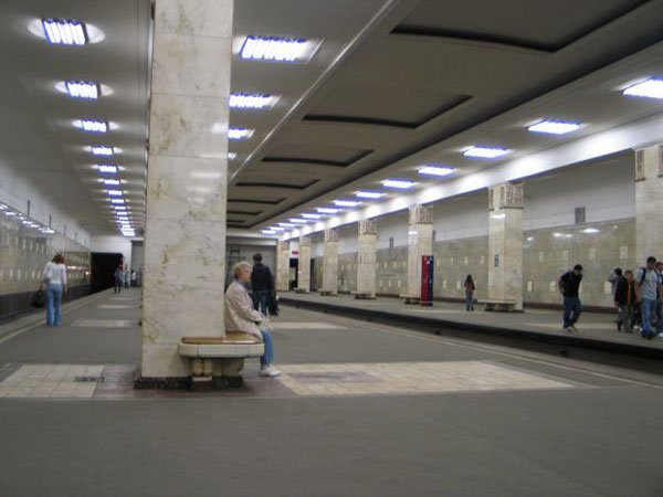 a picture gallery right inside russian metro train 7