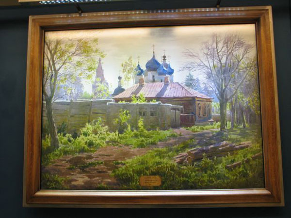 a picture gallery right inside russian metro train 8