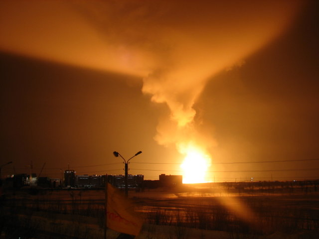 gas explosion, russia 2