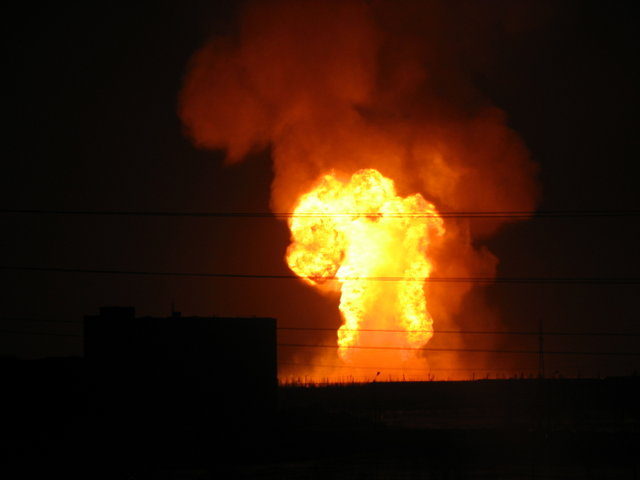 gas explosion, russia 4