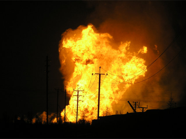 gas explosion, russia 7