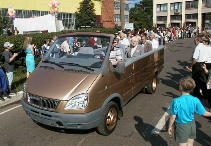 van cabrio, russian
