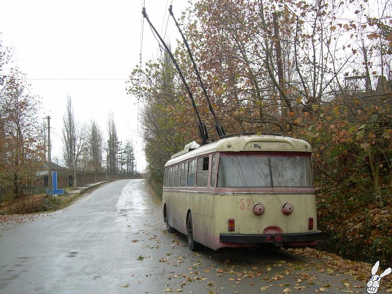 Ancient Electro bus running through georgia 3