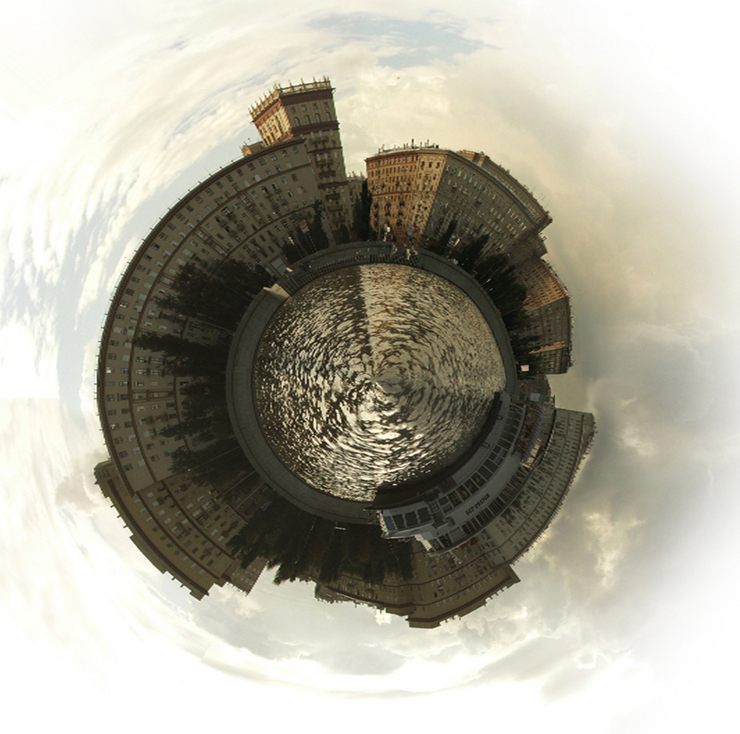 a globe of Moscow 2
