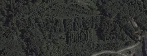 Russian satellite artefacts on google maps 3