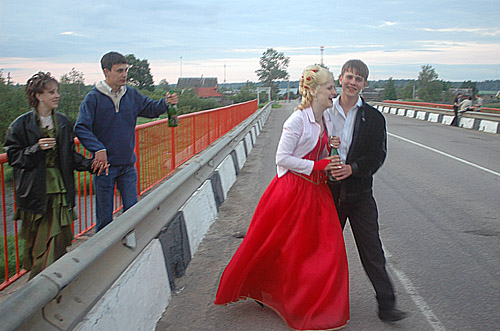 party of Russian graduates - Russian graduation party 12