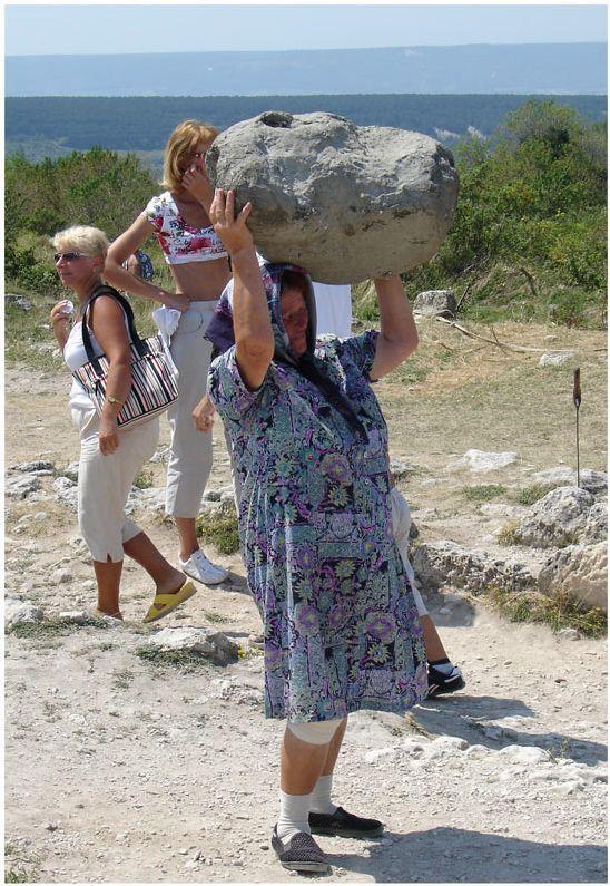 russian grandma