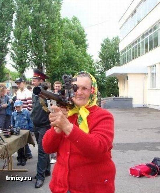 Dangerous Russian Granny 2