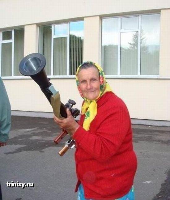 Dangerous Russian Granny 4