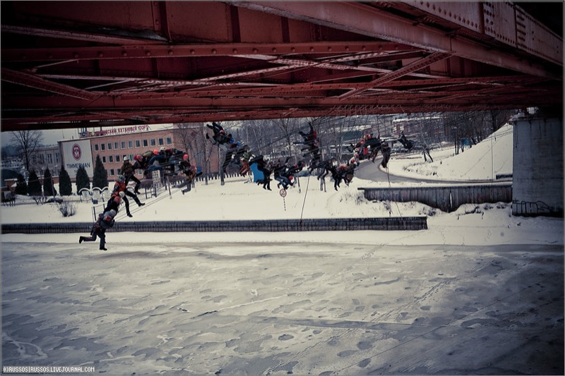 Russian people rope jumping 10