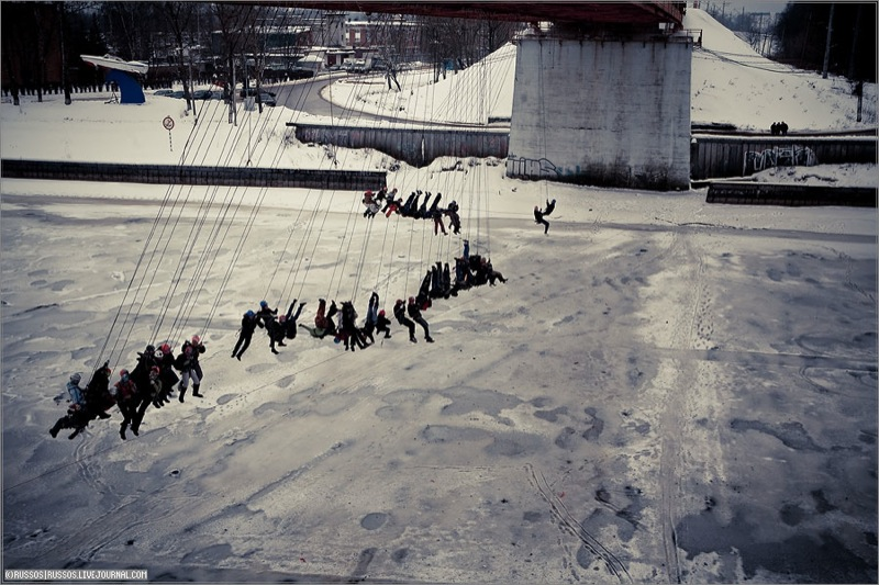 Russian people rope jumping 11