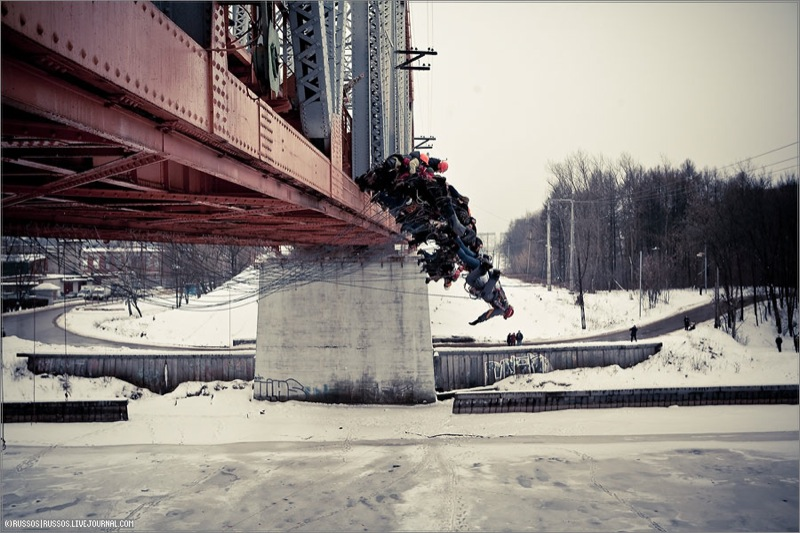 Russian people rope jumping 5