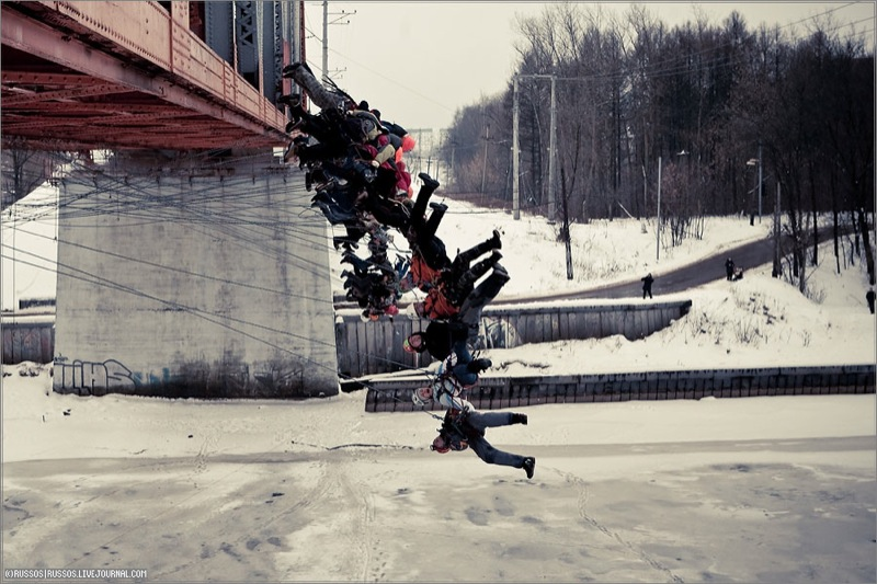 Russian people rope jumping 6
