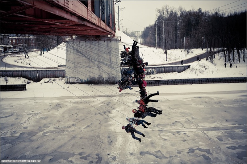 Russian people rope jumping 7