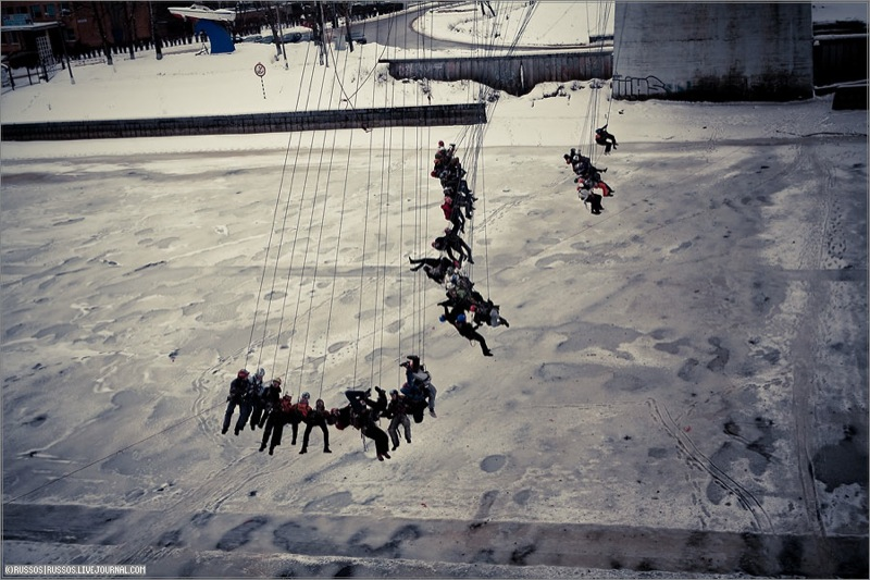 Russian people rope jumping 9
