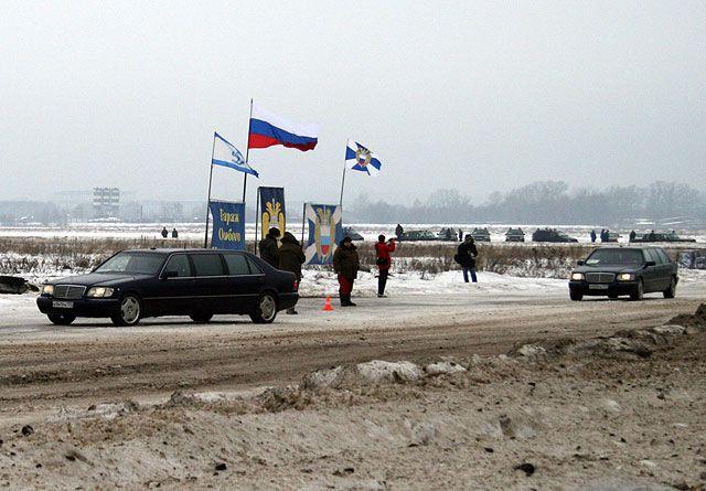 russian president\'s guard race 10