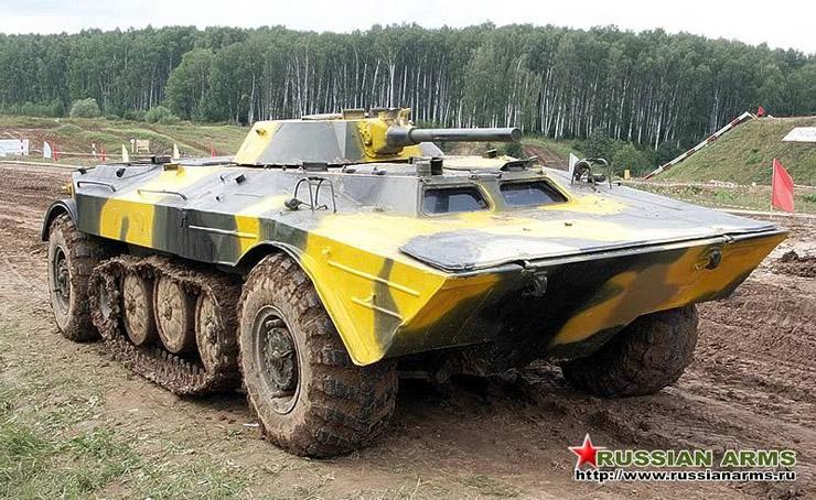 Half Tank - English Russia