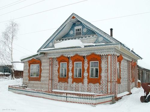 House in Russia 9