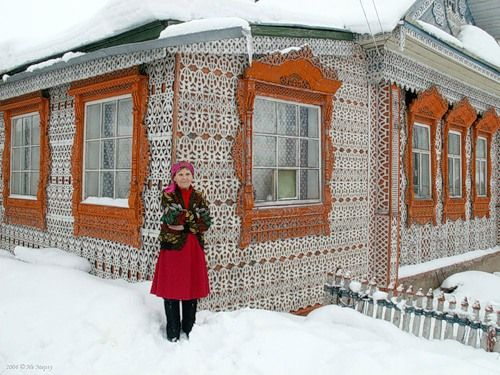 House in Russia
