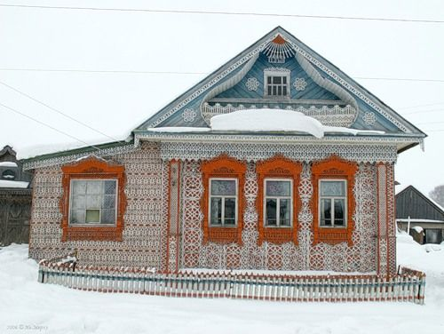 House in Russia 13